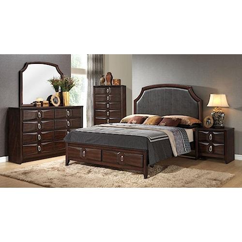 Lifestyle Avery 5PC Queen Storage Bedroom Set