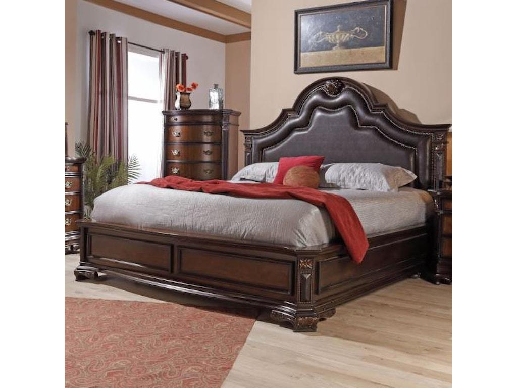 Lifestyle JadeKing Upholstered Bed