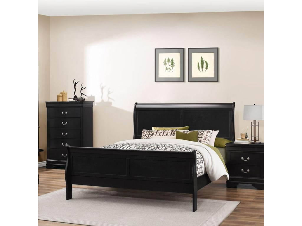 Lifestyle 4935King Sleigh Bed