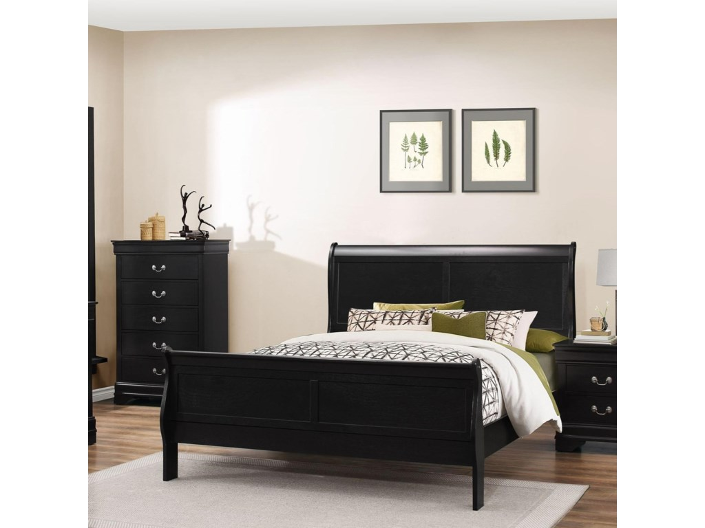 Lifestyle 4935California King Sleigh Bed
