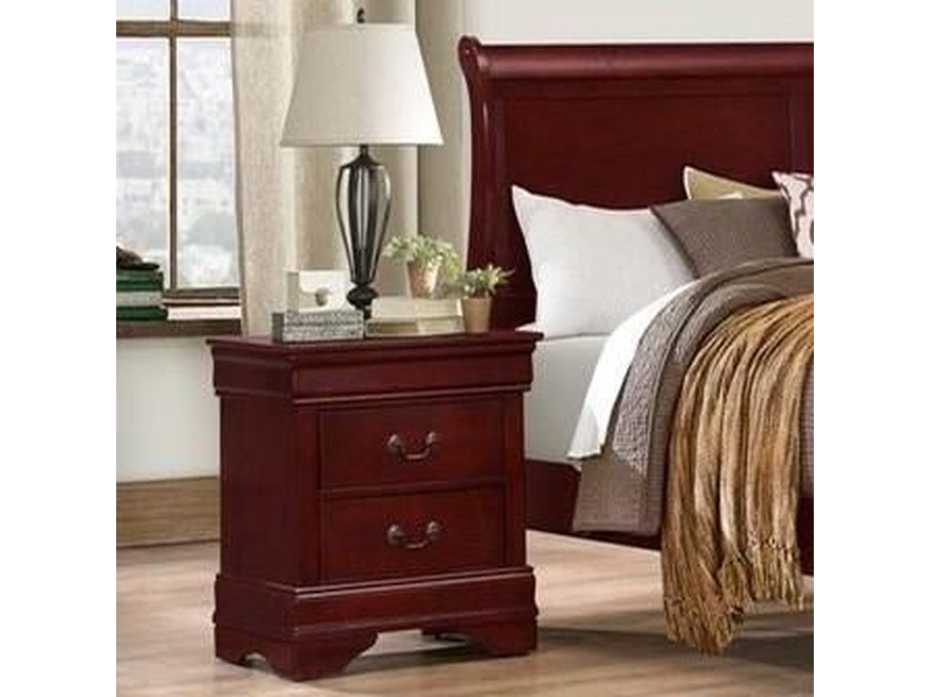 Lifestyle 49372 Drawer Nightstand