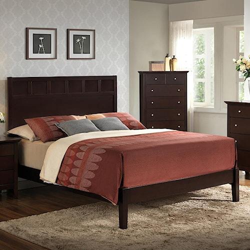 Lifestyle Harper King Wood Panel Bed