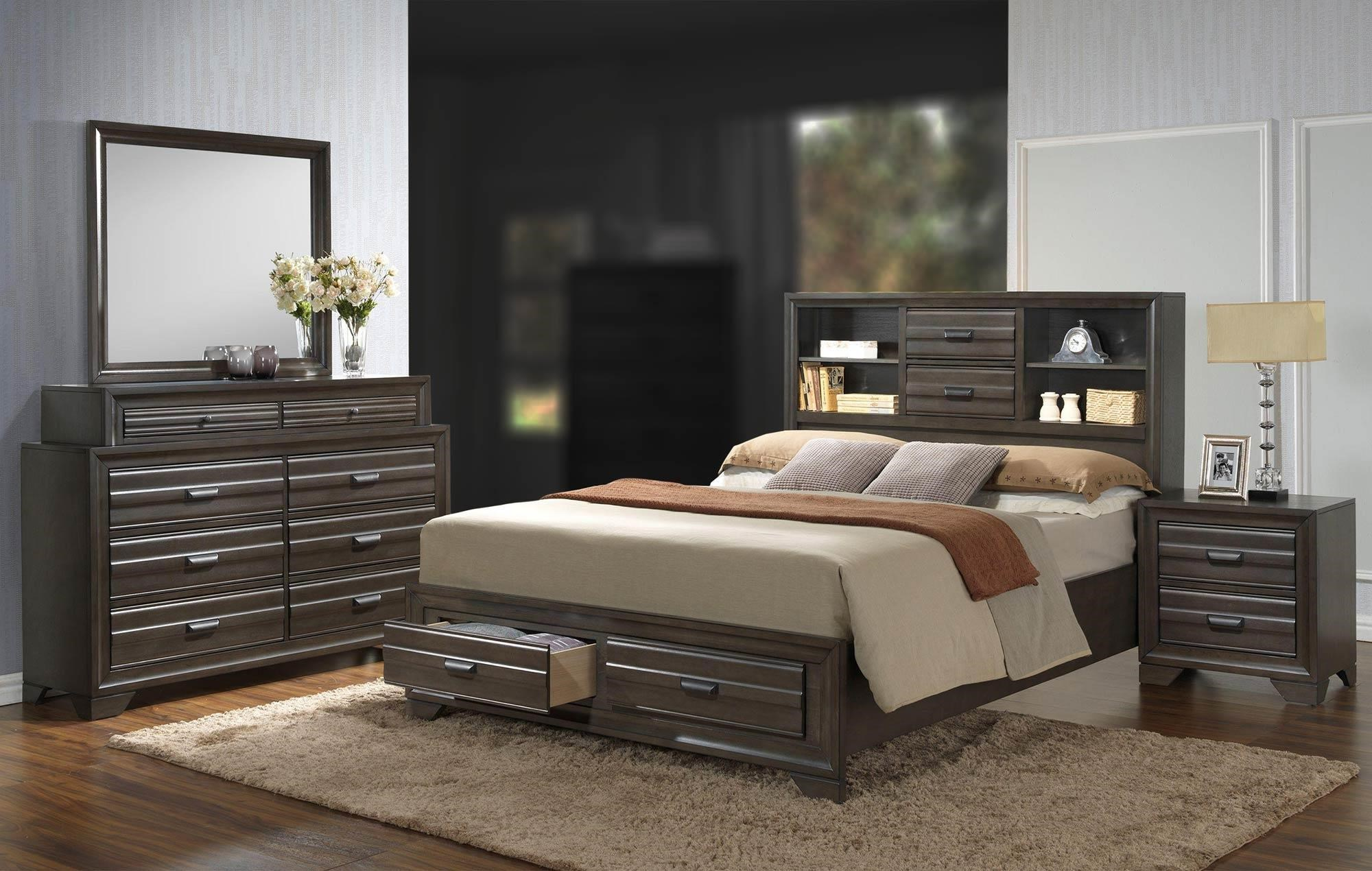 Lifestyle Slater 4PC King Bedroom Set