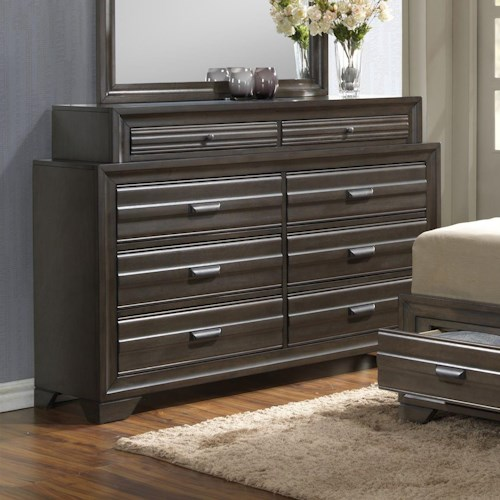 Lifestyle 5236A 8 Drawer Dresser
