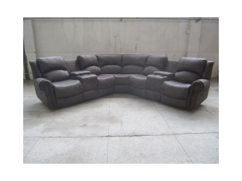 Lifestyle 5530SCasual Sectional Sofa