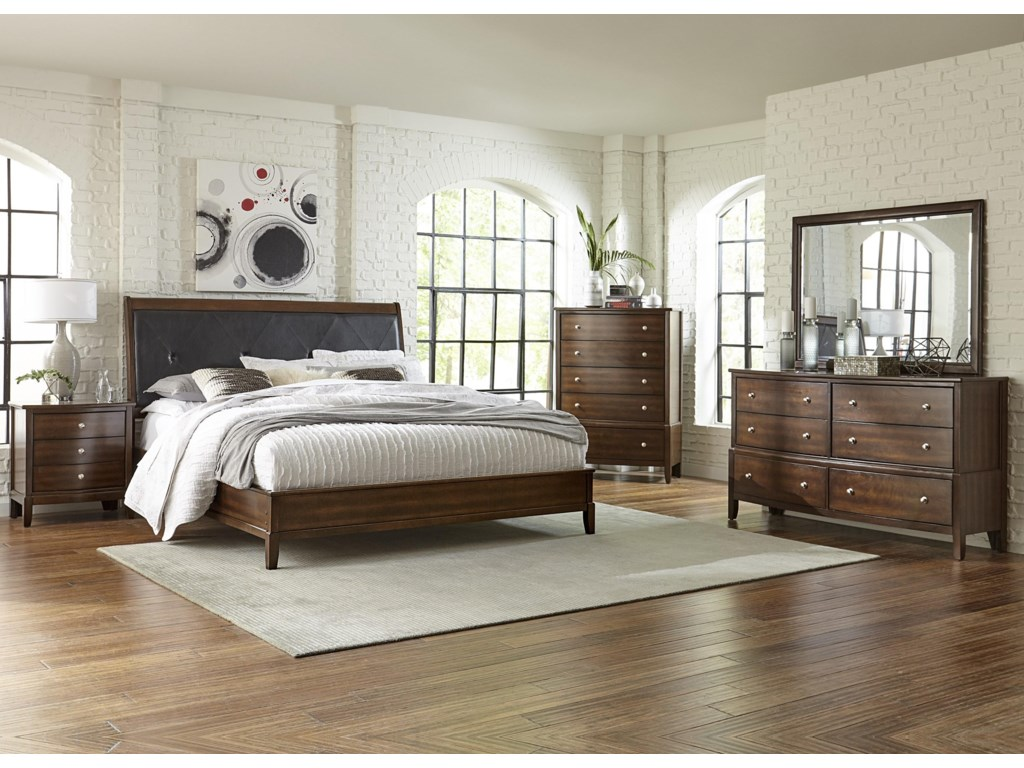Lifestyle StaceyKing 5 Pc Bedroom Group