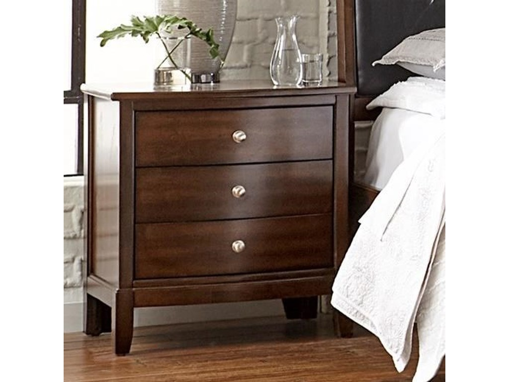 Lifestyle Stacey3-Drawer Nightstand