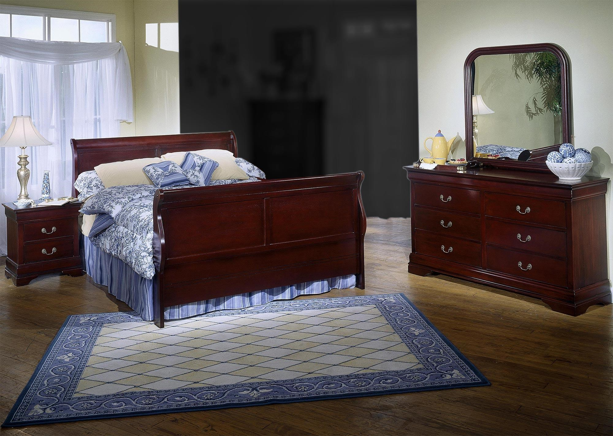 Incroyable Lifestyle Louis Estates4 Piece Queen Bedroom Set
