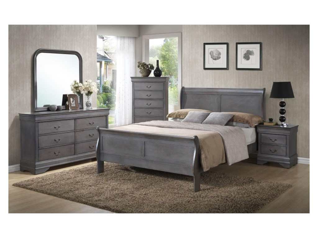 Lifestyle 4934AFull Bedroom Group