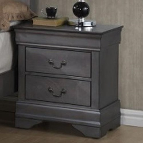 Lifestyle 4934A 2 Drawer Night Stand