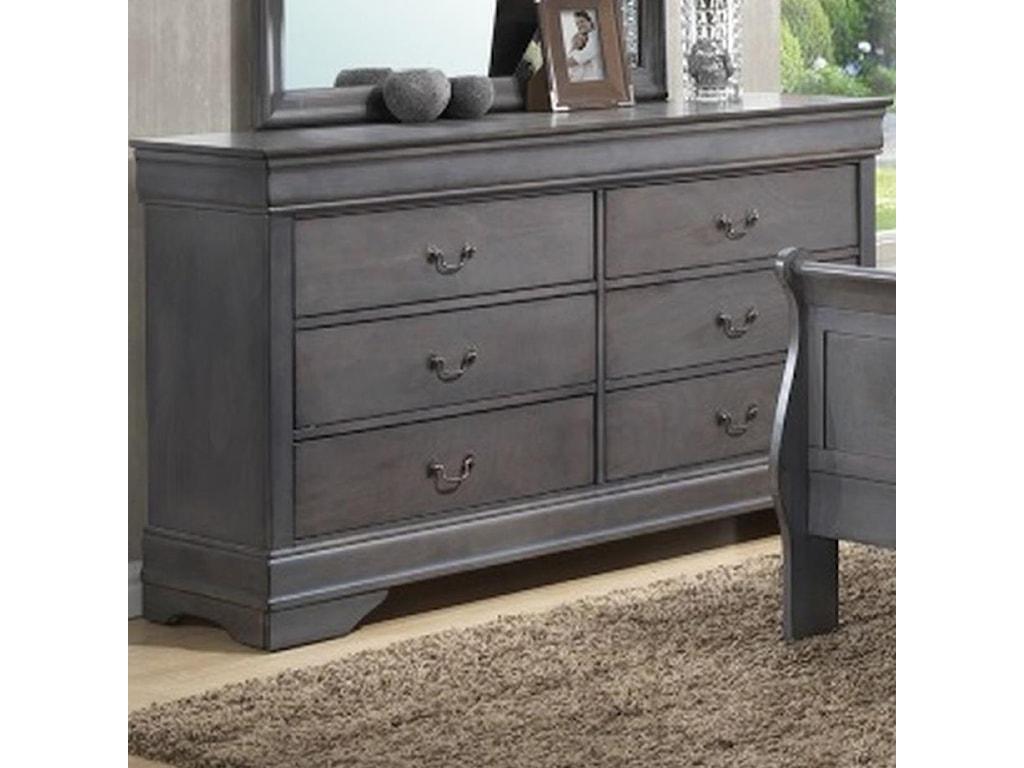 Lifestyle 4934A6 Drawer Dresser