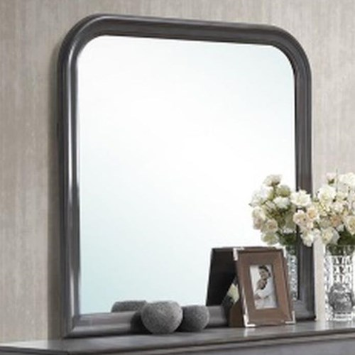 Lifestyle 4934A Square Dresser Mirror with Rounded Edges