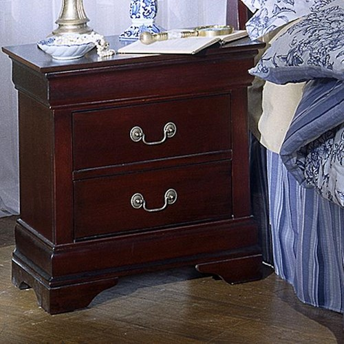 Lifestyle 5933 2 Drawer Night Stand