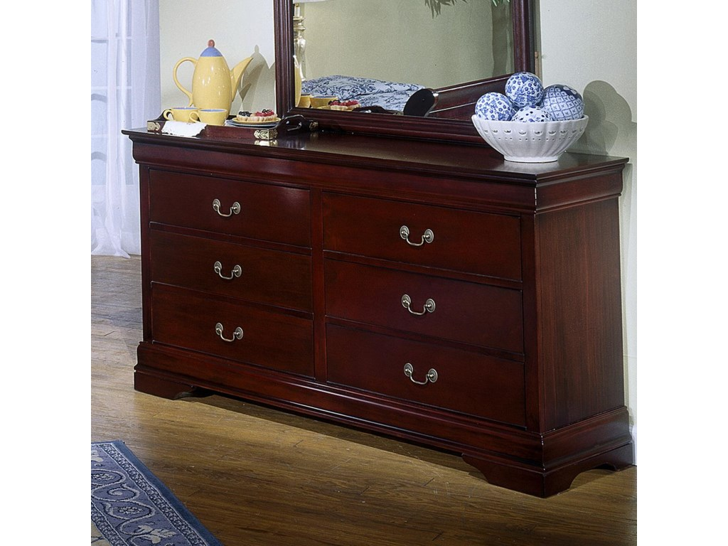 Lifestyle Louis Estate6 Drawer Dresser