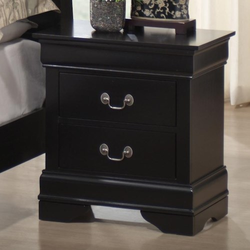 Lifestyle 5934 2 Drawer Night Stand