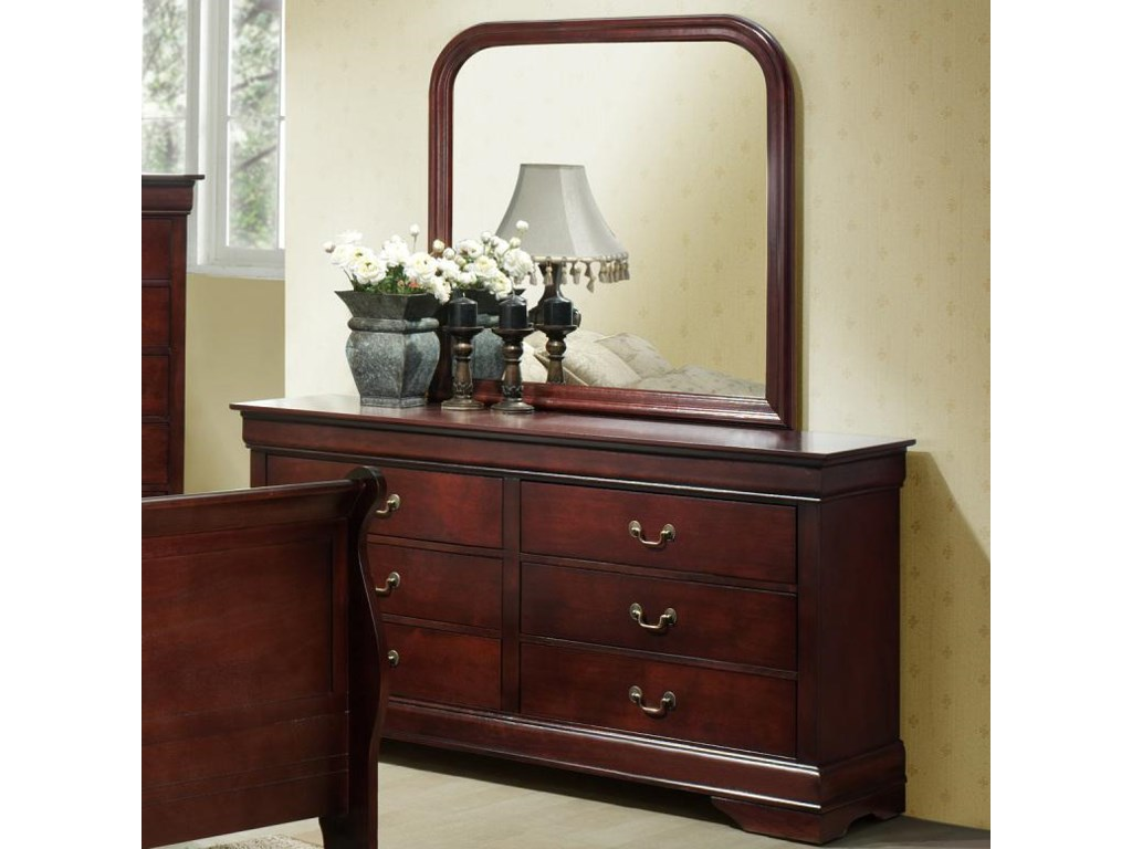 Lifestyle Louis PhillipeDresser and Mirror