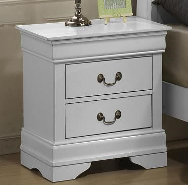 Lifestyle 5939 Night Stand w/ 2 Drawers