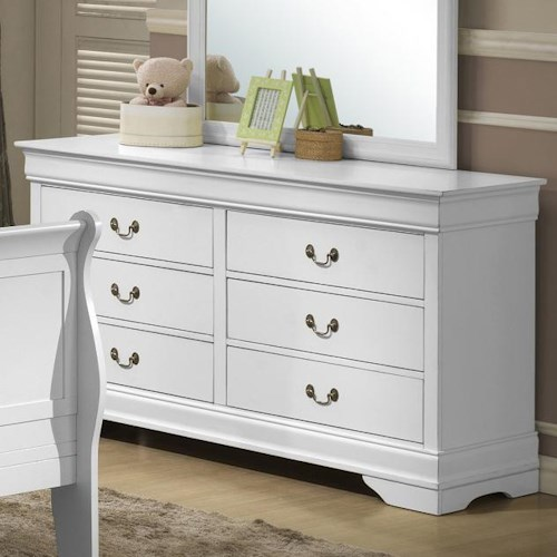 Lifestyle 5939 Drawer Dresser