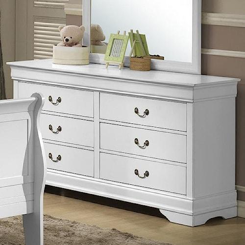 Lifestyle 5939 Drawer Dresser