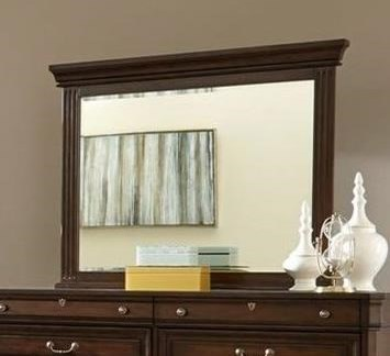 Lifestyle HarrisonMirror with Wood Frame