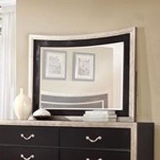 Lifestyle Natalia Mirror with Wood Frame