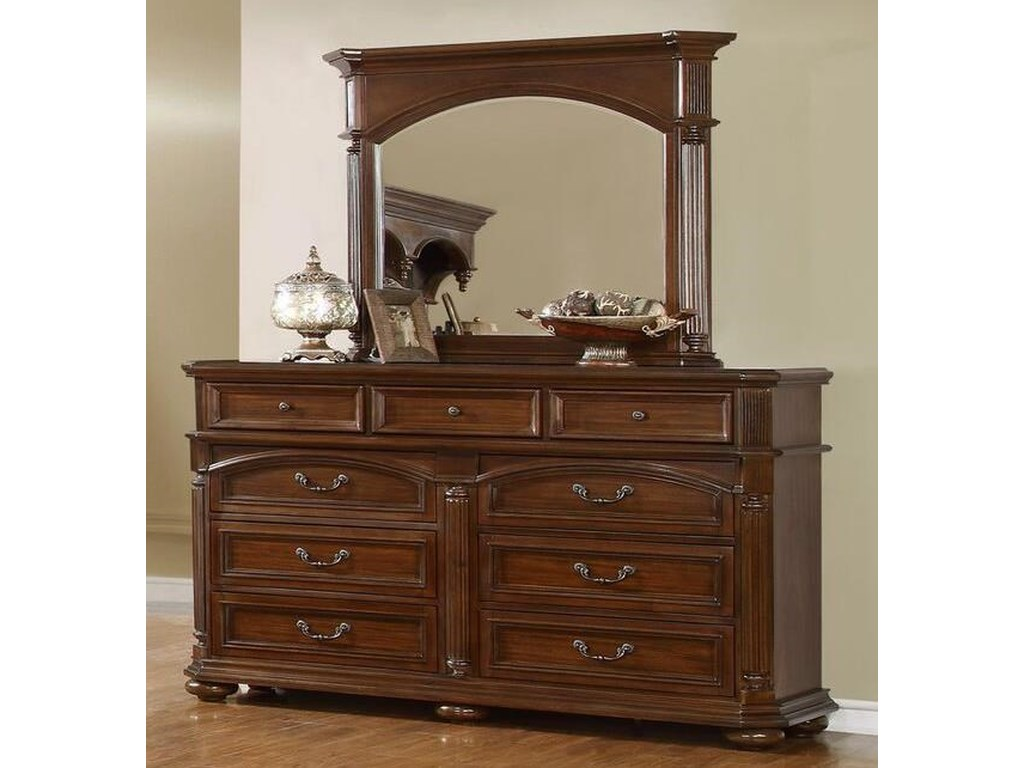 Lifestyle Empire9 Drawer Dresser