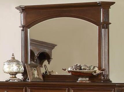 Lifestyle Empire Mirror with Wood Frame