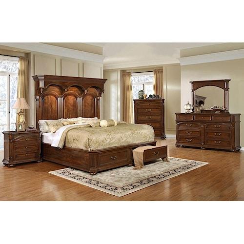 Lifestyle Empire 5PC Queen Storage Bedroom Set