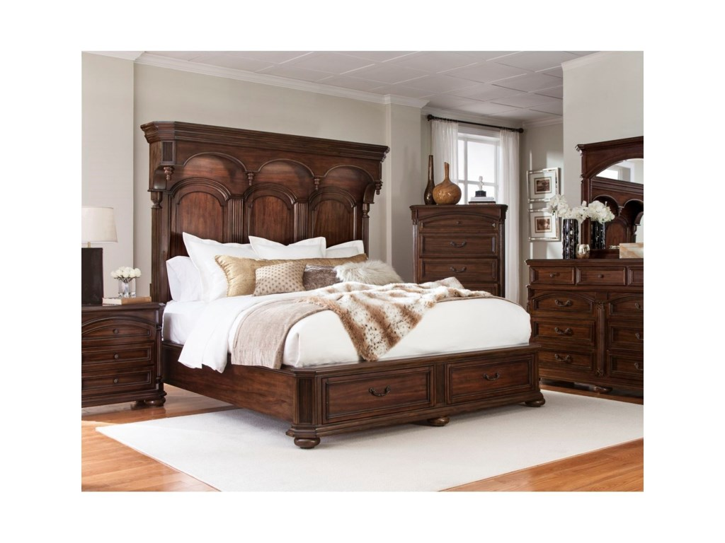 Lifestyle EmpireQueen Storage Bed