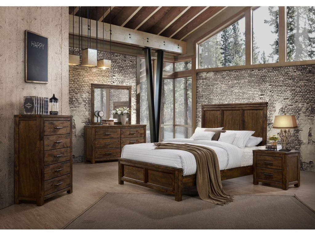 Lifestyle 63776 Piece Queen Bedroom Group