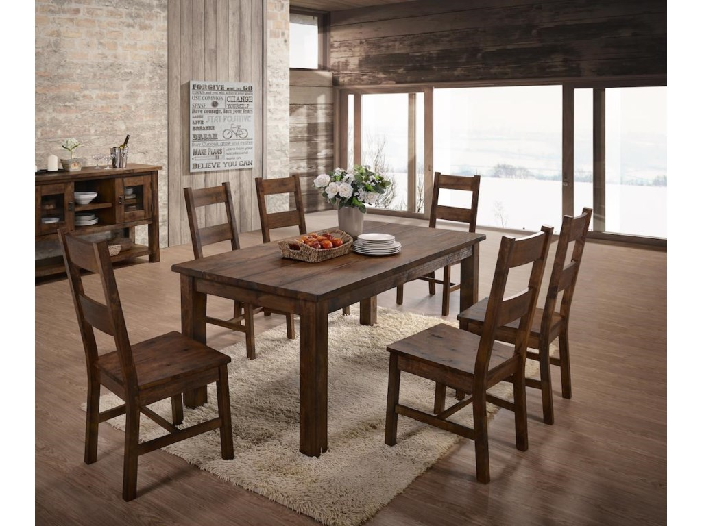 Lifestyle 6377D7 Piece Dining Group