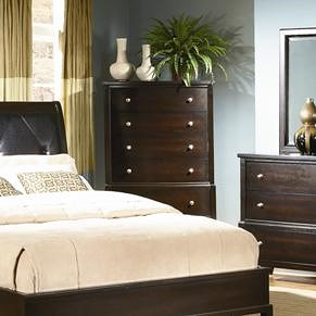 Lifestyle 7185A Vertical Chest of Drawers