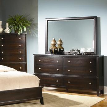 Alex Express Life 7185A Dresser & Mirror Combo