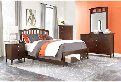 Lifestyle 8237A Queen Bedroom Group