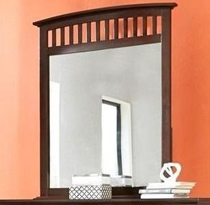 Lifestyle 8237A Dressor Mirror in Whiskey Finish