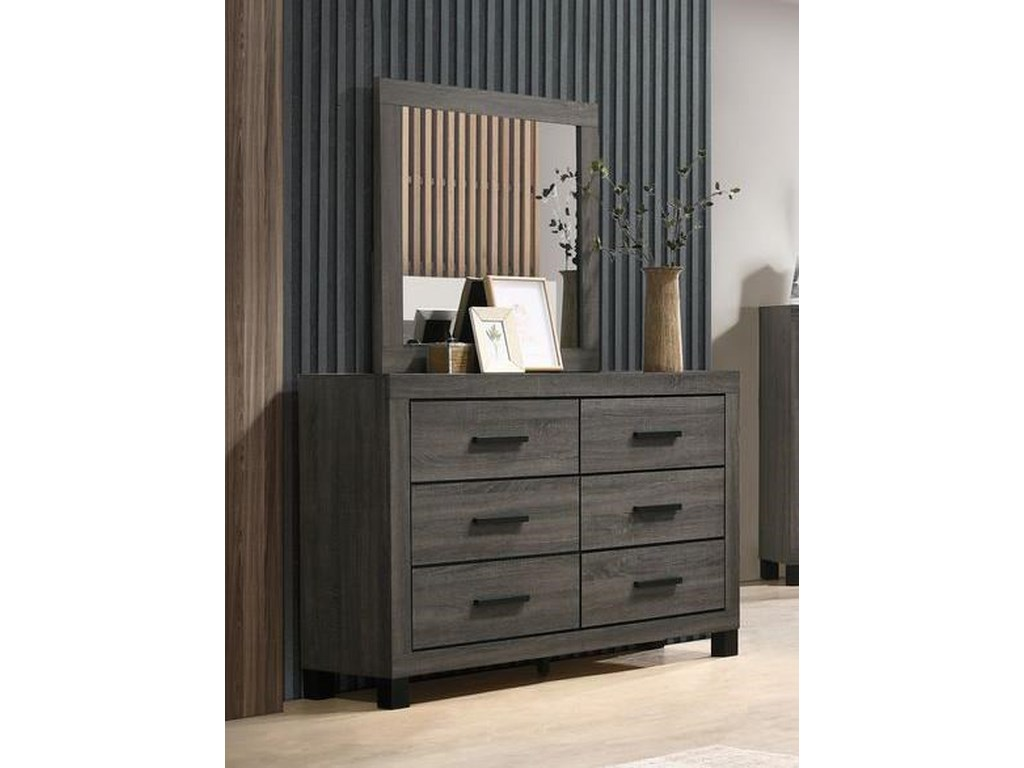 Lifestyle 8321Dresser and Mirror