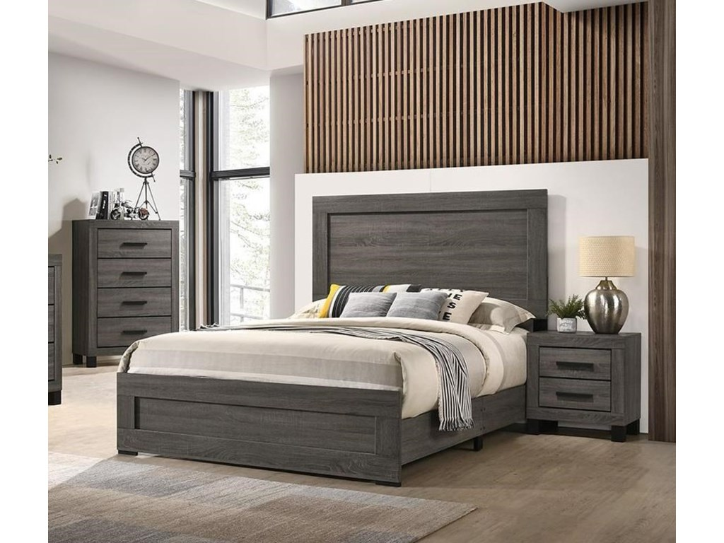 Lifestyle 83215 Piece Full Panel Bedroom Group