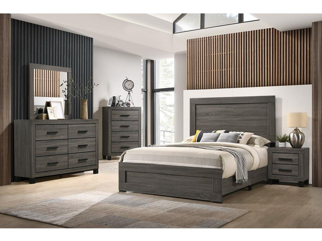 Lifestyle 83216 Piece Full Panel Bedroom Group