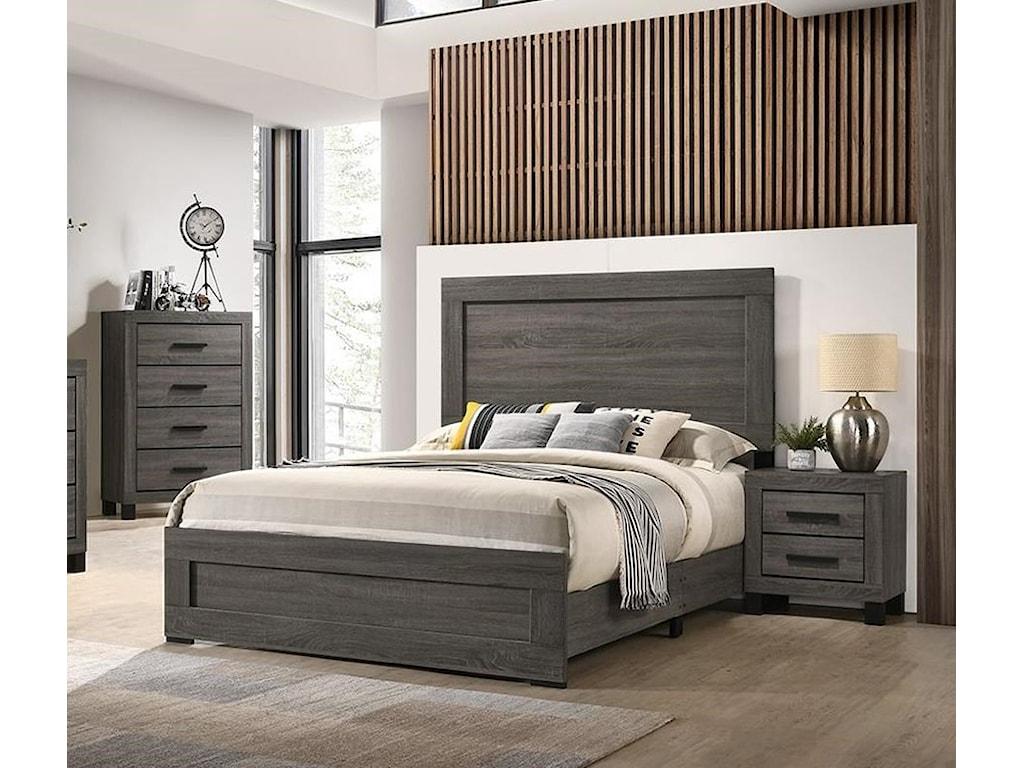 Lifestyle 83215 Piece Queen Panel Bedroom Group
