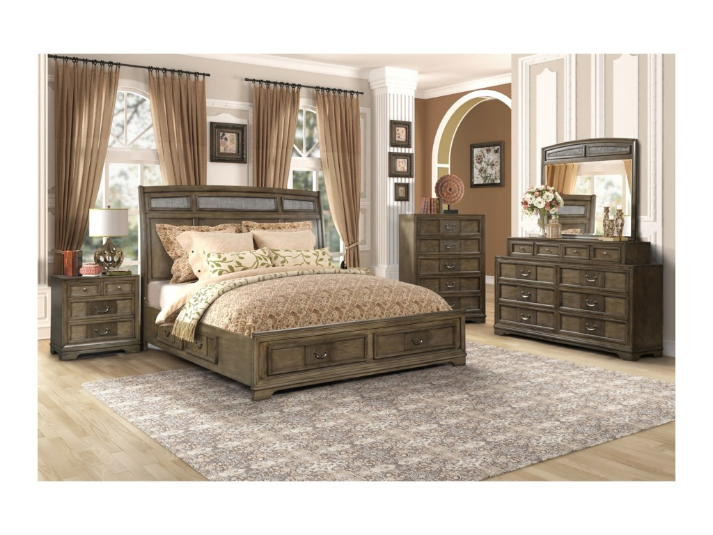 Lifestyle LorrieQueen Storage Bed