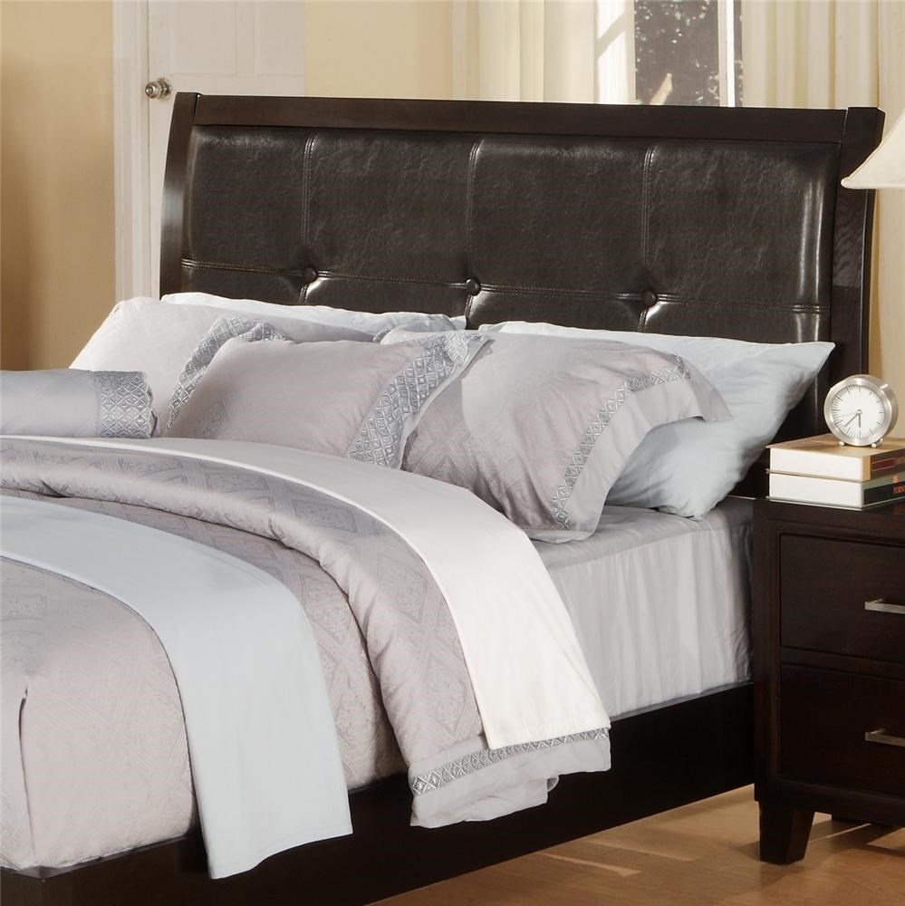 Lifestyle 9182 C9182a Qx5 Xxxx Queen Leather Panel Headboard