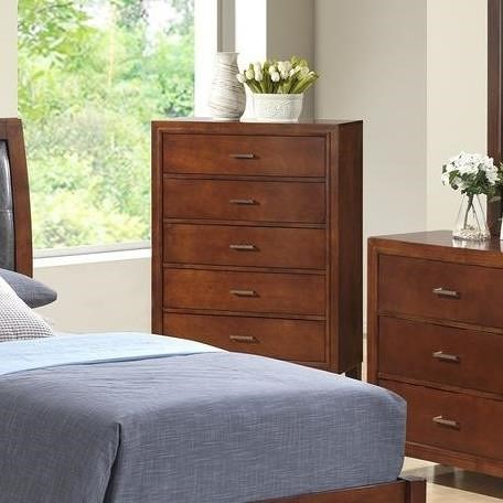 Lifestyle 9182 Chest With 5 Drawers