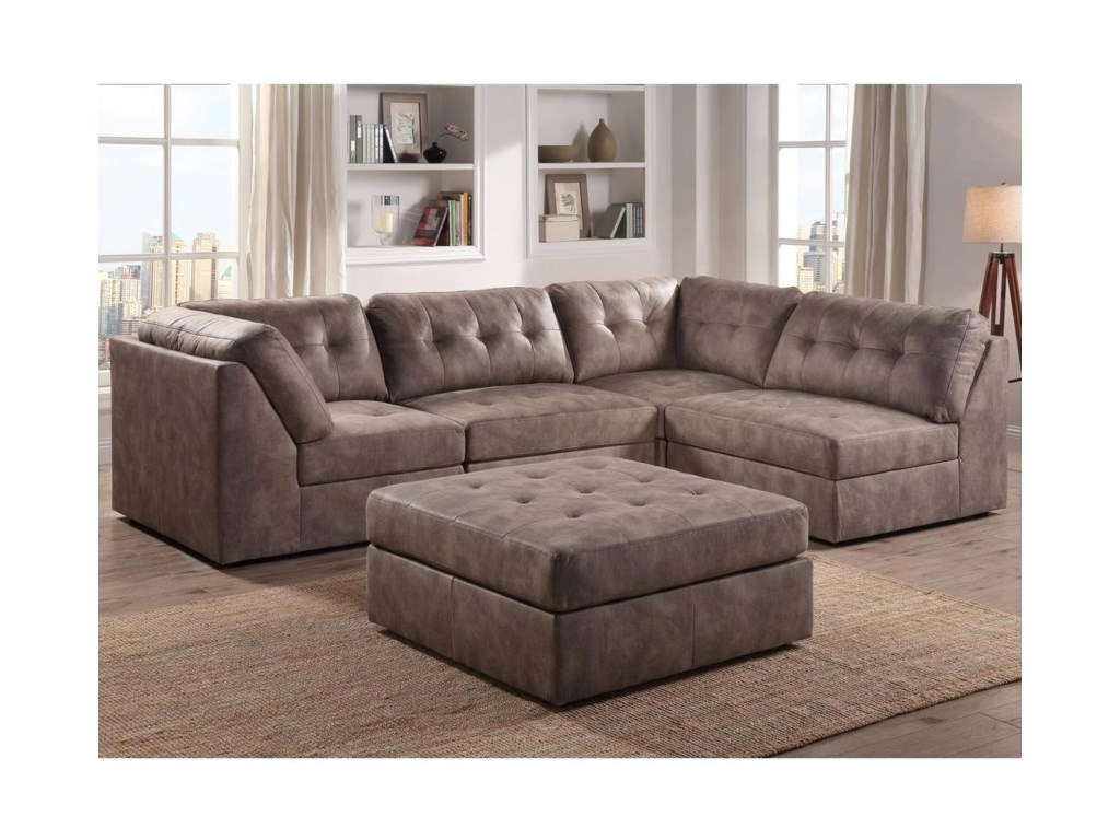 Lifestyle 9377Sectional Sofa