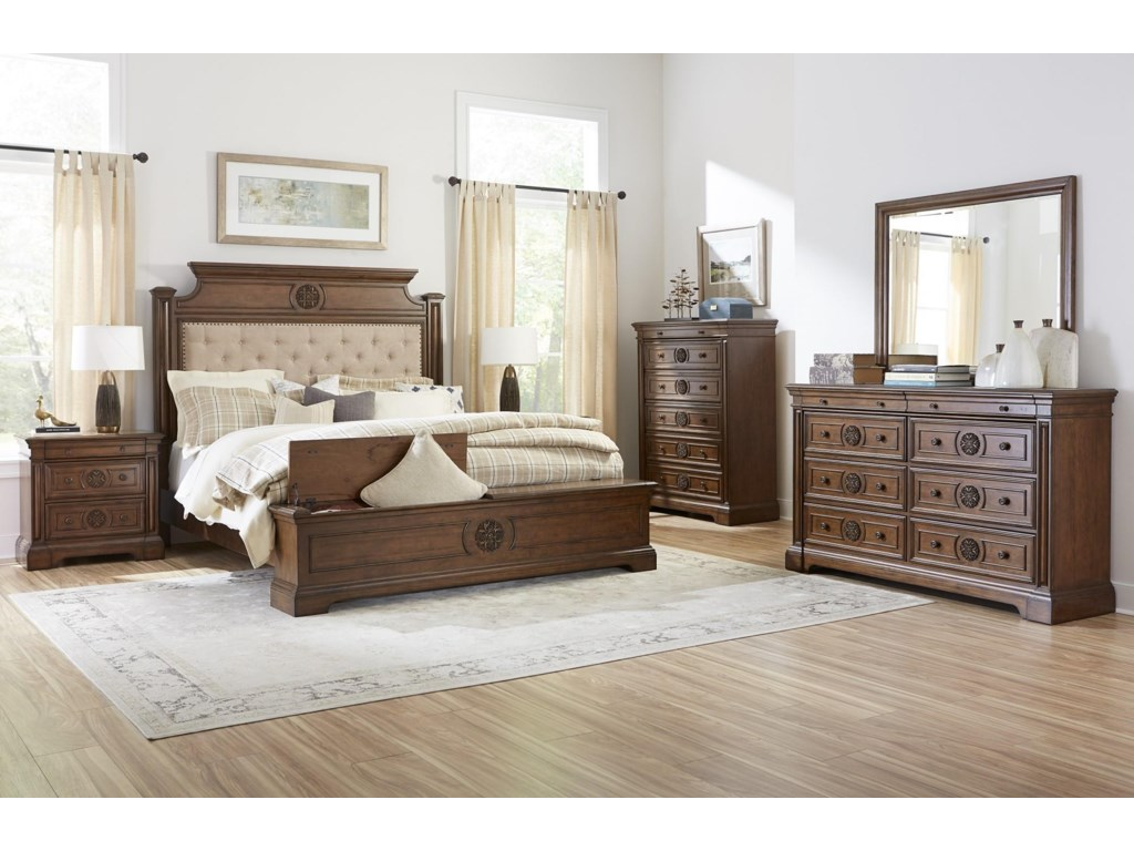 Lifestyle AmberKing 5 Pc Bedroom Group