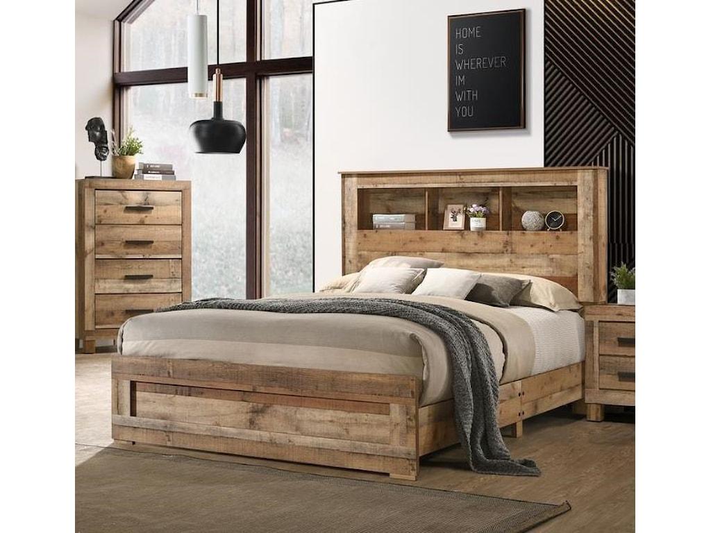 Lifestyle C8311AFull Storage Bed