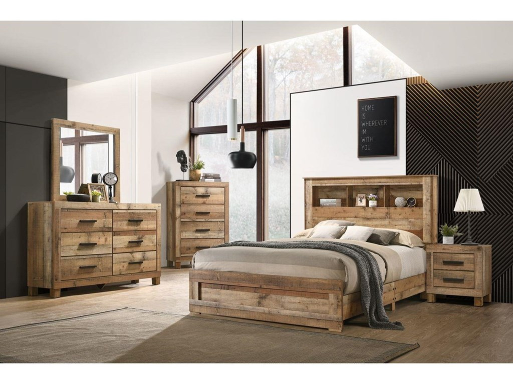 Lifestyle C8311A6 Piece Queen Storage Bedroom Group