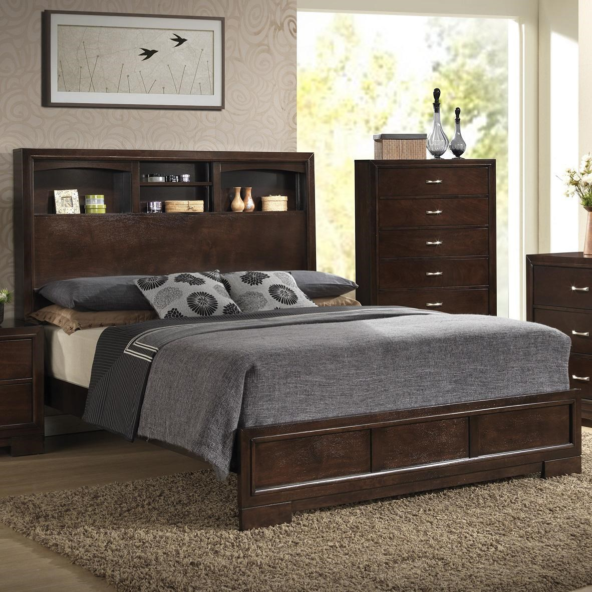 Lifestyle BookieQueen Bookcase Bed