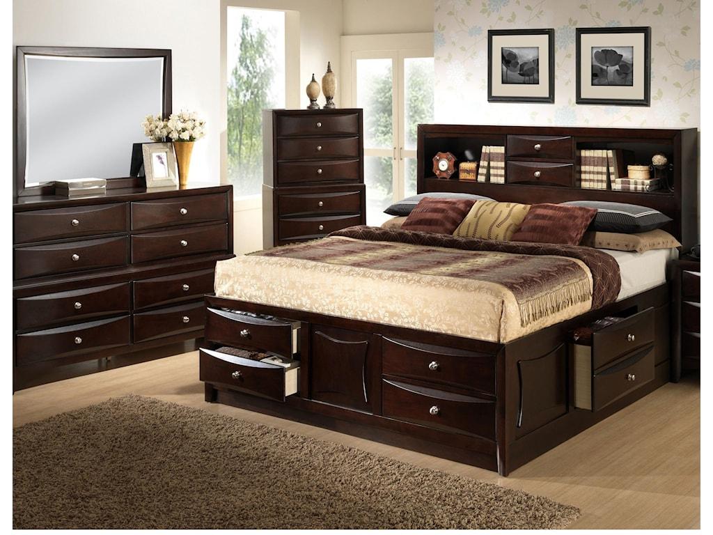 Lifestyle ToddQueen 5 Piece Bedroom Group