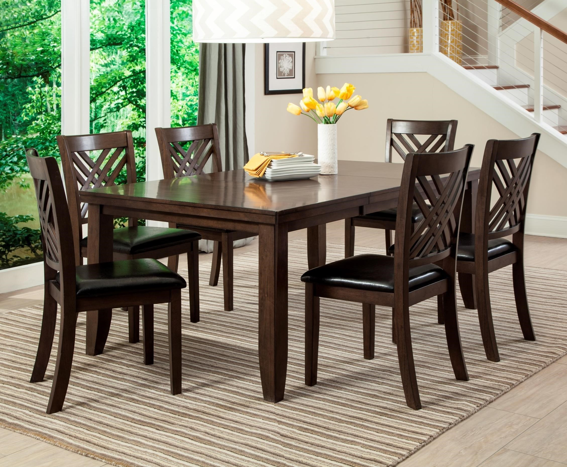 Charmant Lifestyle Cassidy 7 Piece Table U0026 Chair Set With Butterfly Leaf