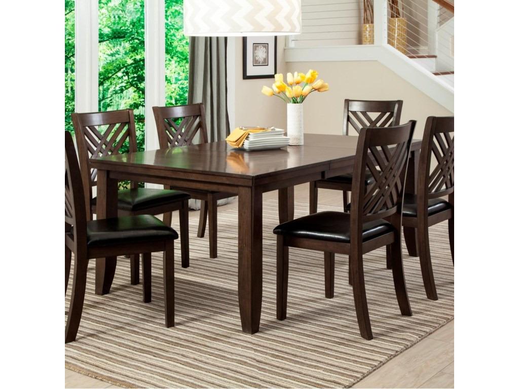 Lifestyle Cassidy Dining Table with Butterfly Leaf   Royal Furniture ...